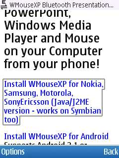 Nokia Install WMouseXP Presenter Remote Step 4