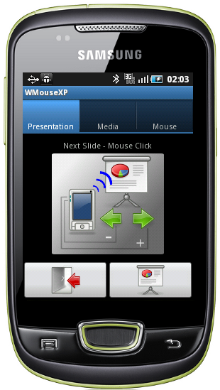WMouseXP on Android screenshot
